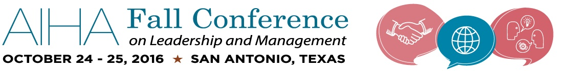AIHA Fall Conference - C&IH Professional Development Course Risk Assessment Boot Camp