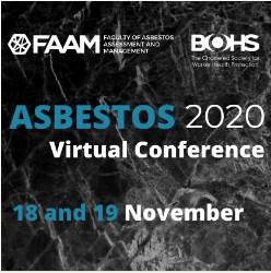 BOHS/FAAM Asbestos 2020 Virtual Conference